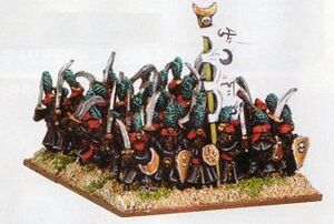 Arabian Guards Araby Warmaster Miniatures
