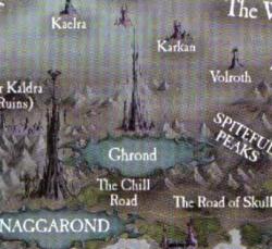 Warhammer Ghrond Map