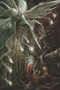 Warhammer Wood Elves Ariel and Morghur