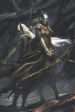 Warhammer Wood Elves Naestra and Arahan