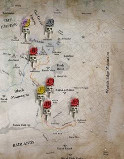 Map of Mannfreds Movement