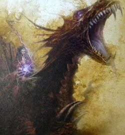 Elspeth von Draken on Carmine Dragon