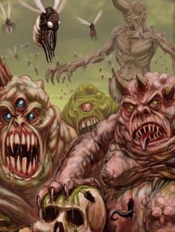 Warhammer Daemons of Chaos Nurglings