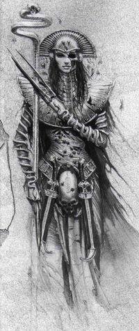 Warhammer Khalida Art