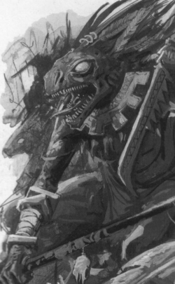 Warhammer Lizardmen Skink Priest