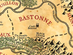 Bastonne map