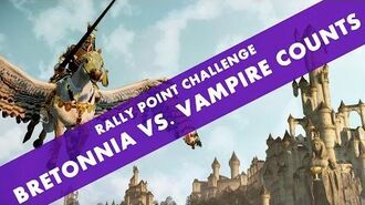 Total War WARHAMMER - Rally Point Challenge Bretonnia Multiplayer Custom Battle COMBI