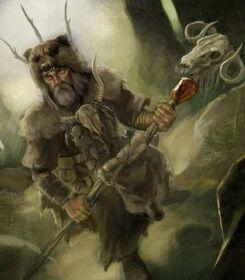 Fantasy battle wizards