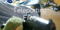 Teleporting Frog