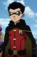 Robin Justice League VS Titans