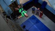 Sheldon fainted on rock climbing, again