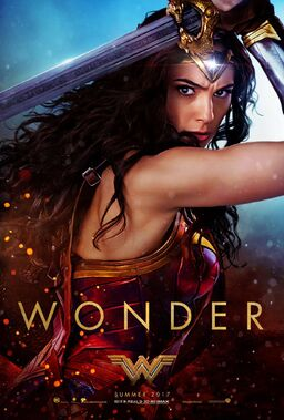 Wonder Woman (2017) second teaser poster