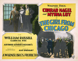 Girl from Chicago lobby card