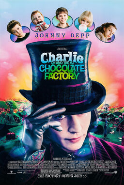 Charlie and the chocolate factory poster2
