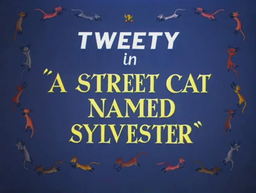 A Street Cat Named Sylvester Title Card