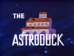 The Astroduck Title Card