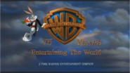 WARNER BROS. FAMILY ENTERTAINMENT 75 YEARS 1998 WIDESCREEN LOGO