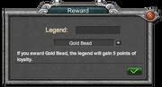 Gold Bead Loyalty