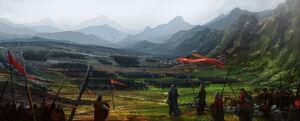 Landscape war