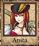 Anita Musketeer Poster