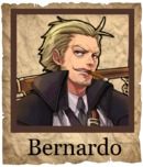 Bernardo Musketeer Poster