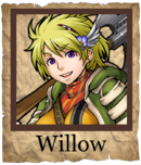 Willow Swashbuckler Poster