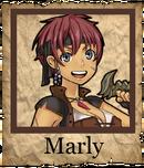 Marly Corsair Poster