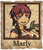 Marly Corsair Poster