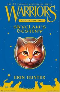 SkyClan's Destiny Cover