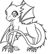 Baby Western Dragon, Female