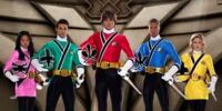Power Ranger Super Samurai/ Girl red ranger Super Samurai team/ Nighlokes