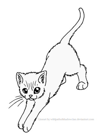 File:Stand stretch lineart by wildpathofshadowclan-d2ywc0c.png