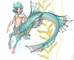 Pretty little fish boy thing by LilleahWest-1-