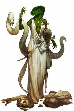 Female serpentfolk by the clockwork king-d55dj0c
