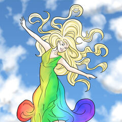 A daughter of the rainbow goddess, Iris...