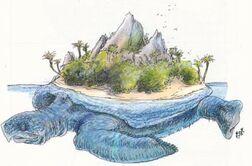 Aspidochelone Island