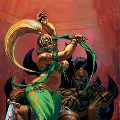 Djinn Tefiz and his lady, the lovely Djinn Dahanra...