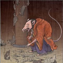 Tesso, the rat yokai...