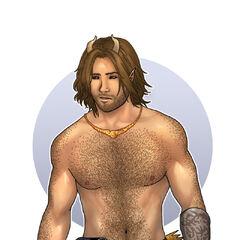 Meet Briar Starsong, a Half-Satyr...