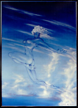 Wind air breeze gale gust sky elemental sylph beauty fly flight flying
