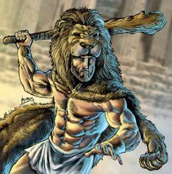 Hercules (Heracles, Herakles) with Lion Cloak