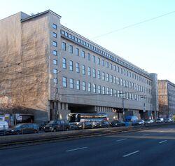 Sądy na Lesznie (aleja Solidarności, budynek nr 127)