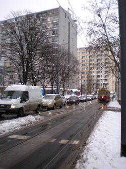Aleja Solidarności zimą.JPG