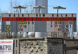 Tablica informacyjna Zajezdnia tramwajowa Mokotów