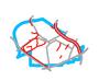 Schemat ścieżek rowerowych w Ursusie