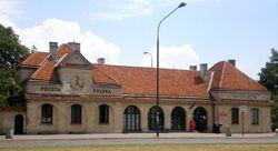 Stacja kolejki waskotorowej Wilanow