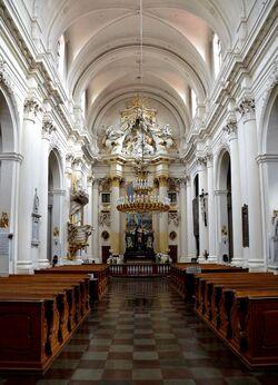 Kościół Wizytek wewnątrz.JPG