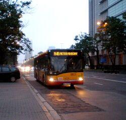 Świętokrzyska (autobus N46)