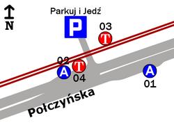 Połczyńska Parking P+R