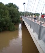 Most Świętokrzyski (fala powodziowa)